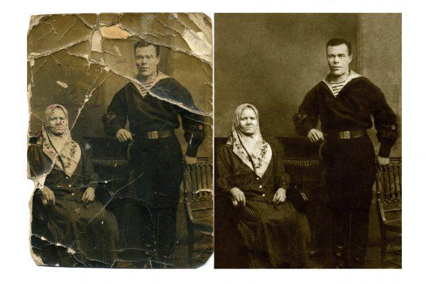 Реставрація фотографій