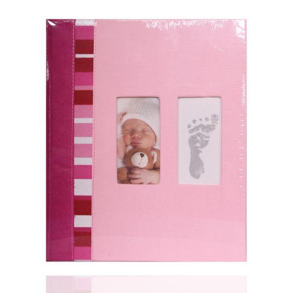 Альбом самоклейка 23х28/40 pink